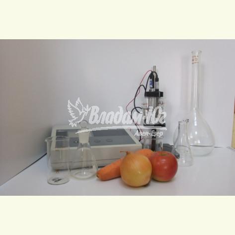 Перевірка готової продукції на наявність нітратів і сухих речовин